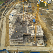 Ход строительства жилого комплекса, 08.04.2014 III очередь