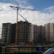 Ход строительства жилого комплекса, 26.06.2014 III очередь