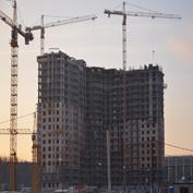Ход строительства жилого комплекса, 15.01.2014 II очередь
