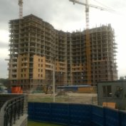 Ход строительства жилого комплекса, 29.07.2014 III очередь