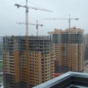 Ход строительства жилого комплекса, 29.11.2014 III очередь