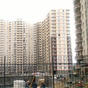 Ход строительства жилого комплекса, 29.08.2014 II очередь