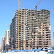 Ход строительства жилого комплекса, 20.03.2014 II очередь