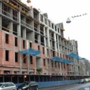 Ход строительства жилого комплекса, 11.11.2013