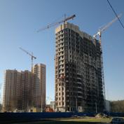 Ход строительства жилого комплекса, 23.04.2014 II очередь