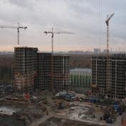 Ход строительства жилого комплекса, 25.10.2013 II очередь