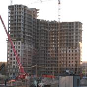 Ход строительства жилого комплекса, 26.11.2013 II очередь