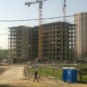 Ход строительства жилого комплекса, 20.05.2014 III очередь