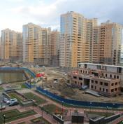 Ход строительства жилого комплекса, 14.10.2015 III очередь
