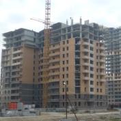 Ход строительства жилого комплекса, 23.09.2014 III очередь