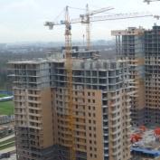 Ход строительства жилого комплекса, 30.10.2014 III очередь