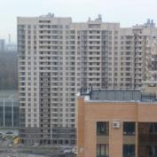 Ход строительства жилого комплекса, 30.10.2014 II очередь
