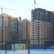 Ход строительства жилого комплекса, 24.12.2014 III очередь