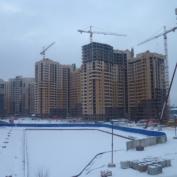 Ход строительства жилого комплекса, 28.01.2015 III очередь